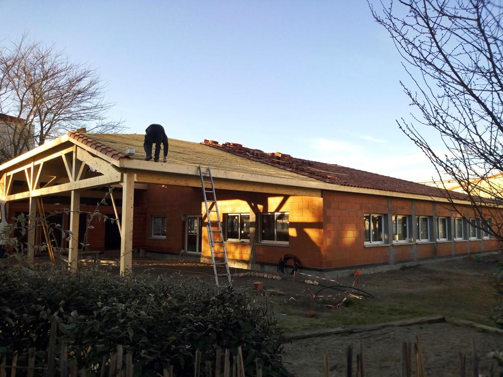 Ecole en construction (02/2019)